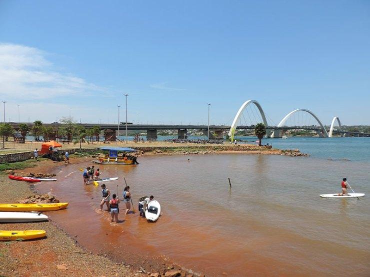 Ponte JK, Brasília (Foto: Esse Mundo É Nosso)