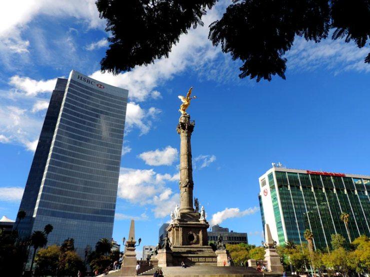 Paseo La Reforma, Cidade do México (Foto: Esse Mundo É Nosso)