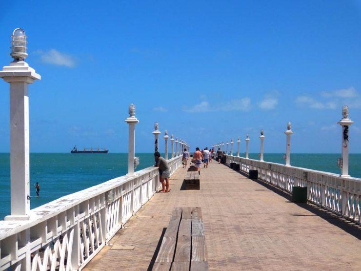Praias de Fortaleza: Praia de Iracema (Foto: Esse Mundo É Nosso)