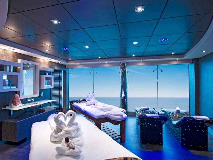 Aurea Spa, MSC Yacht Club (Foto: Divulgação)
