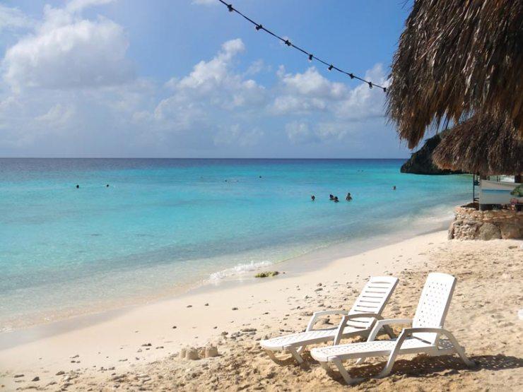 Melhores Praias de Curaçao: Cas Abao (Foto: Esse Mundo É Nosso)