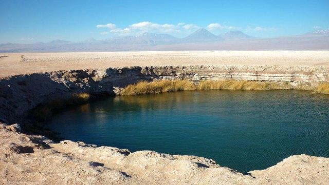 Ojos do Salar do Atacama (Foto: Esse Mundo é Nosso)