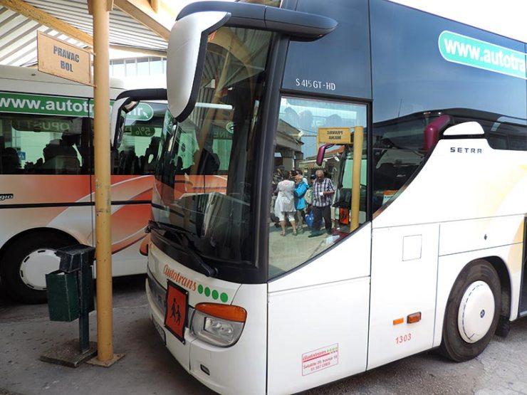 Como é viajar de ônibus na Croácia (Foto: Esse Mundo É Nosso)