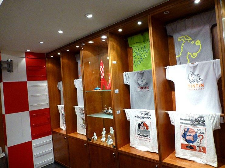 Loja do Tintin em Bruxelas (Foto: Esse Mundo é Nosso)
