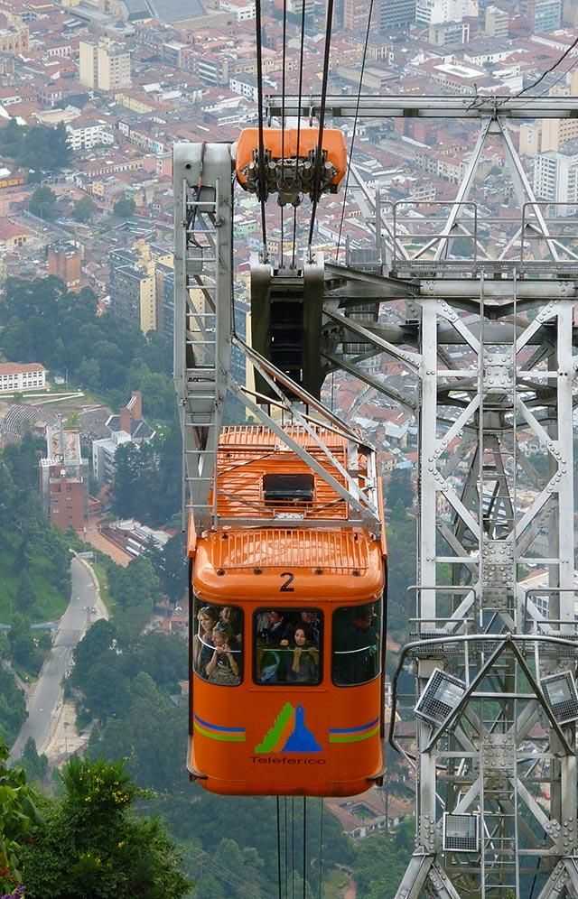 Conexão em Bogotá - Cerro Monserrate (Foto: Esse Mundo É Nosso)