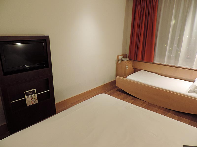 Dica de hotel em Madrid: Ibis Madrid Centro Las Ventas (Foto: Esse Mundo É Nosso)