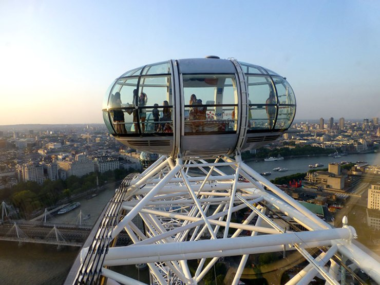 London Eue: A Roda gigante de Londres (Foto: Esse Mundo é Nosso)