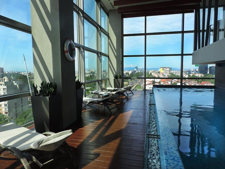 Dica de hotel em Zagreb, Croácia: DoubleTree by Hilton Zagreb (Foto: Esse Mundo É Nosso)