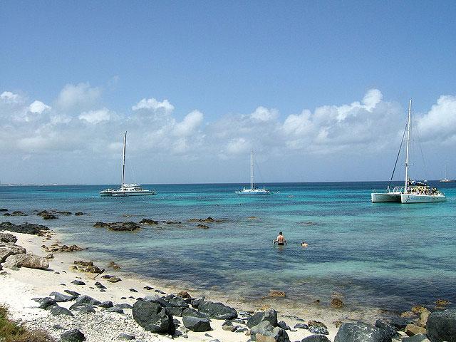 Praias de Aruba - Malmok Beach [Foto: joskrum (CC BY 2.0)]