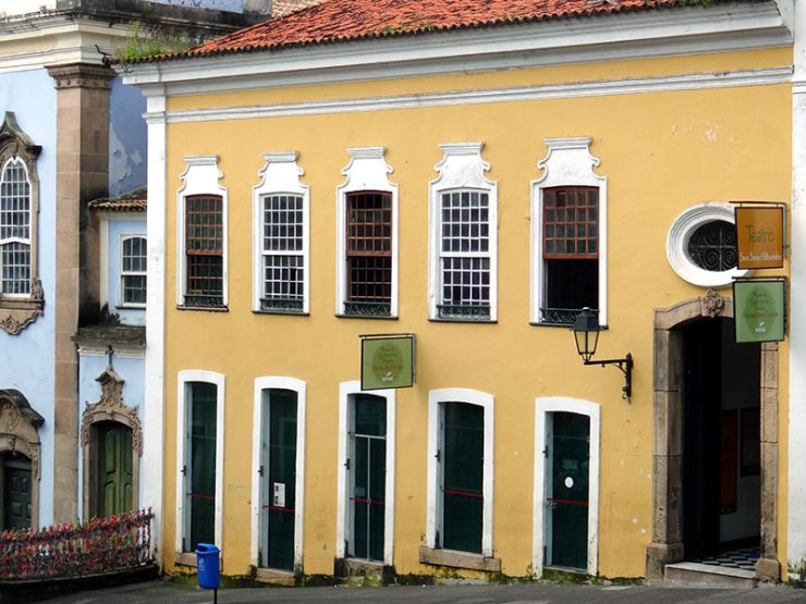 Restaurante de comida baiana em Salvador: Senac Pelourinho (Foto: Esse Mundo É Nosso)