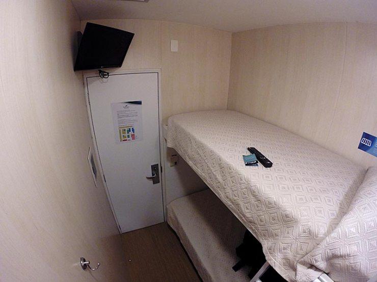 Hotel no aeroporto de Guarulhos: Slaviero Fast Sleep (Foto: Esse Mundo É Nosso)