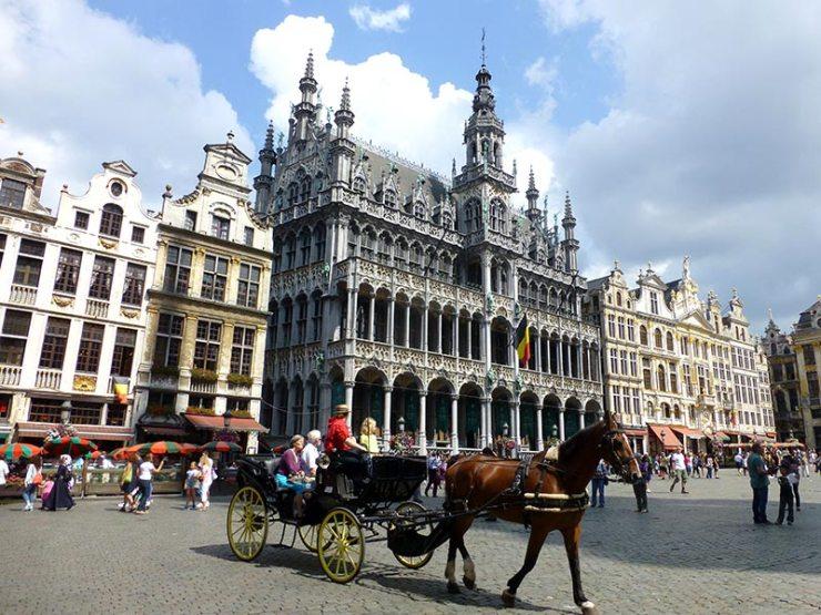 Chocolate em Bruxelas, na Bélgica (Foto: Esse Mundo é Nosso)