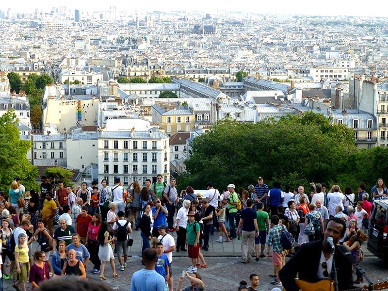 Basílica de Sacré Cœur (Foto: Esse Mundo é Nosso)