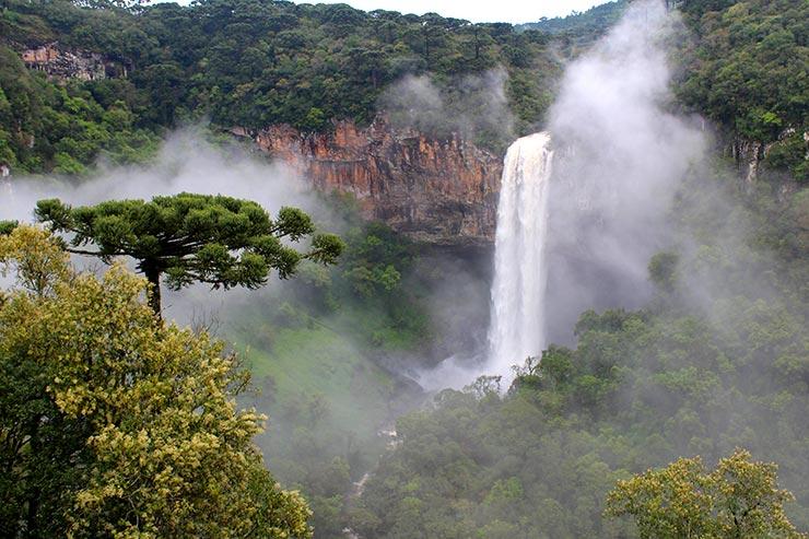 10 motivos pra viajar pra Gramado e Canela: Cascata do Caracol (Foto: Esse Mundo é Nosso)