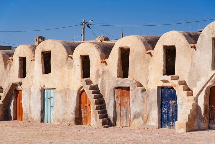 Cenários de Star Wars que existem de verdade - Médenine, Tunísia (Foto via Shutterstock)