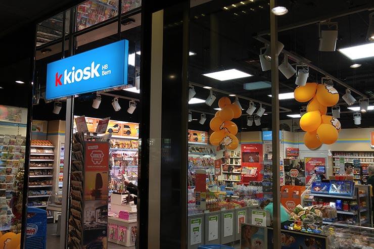 Suíça gastando pouco - K Kiosk (Foto: Esse Mundo É Nosso)