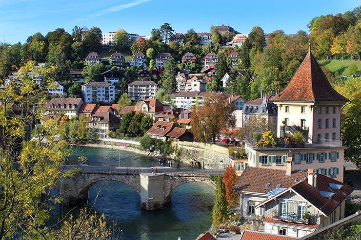 Berna, a capital da Suíça (Foto: Esse Mundo É Nosso)