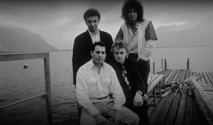 Queen em Montreux (Foto: Richard Gray - Divulgação Queen Studio The Experience)