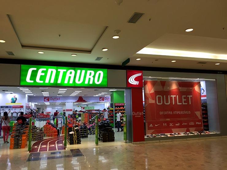 Outlet em São Paulo: Centauro (Foto: Esse Mundo é Nosso)