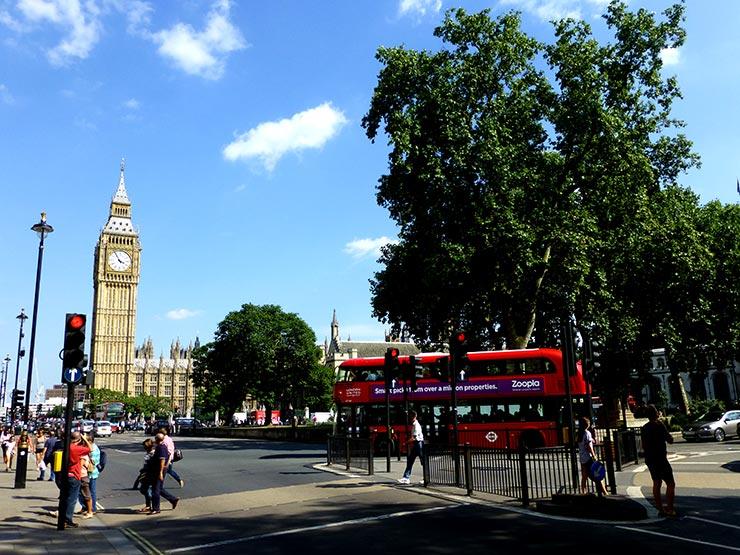 Londres em dia de sol (Foto: Esse Mundo é Nosso)