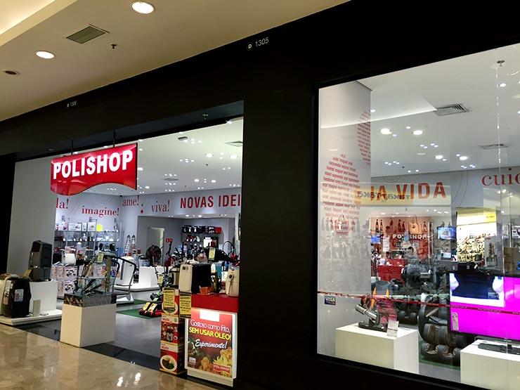 Outlet em São Paulo: Polishop (Foto: Esse Mundo é Nosso)