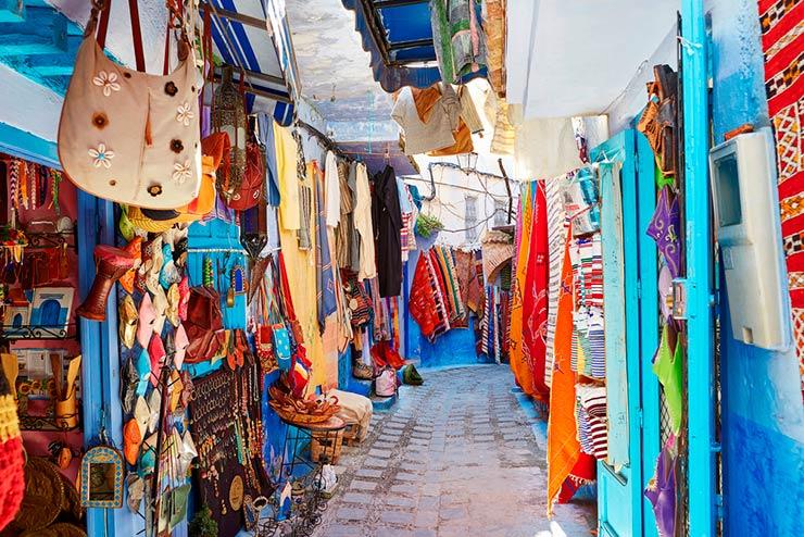 Chefchaouen, A Cidade Azul do Marrocos (Foto via Shutterstock)