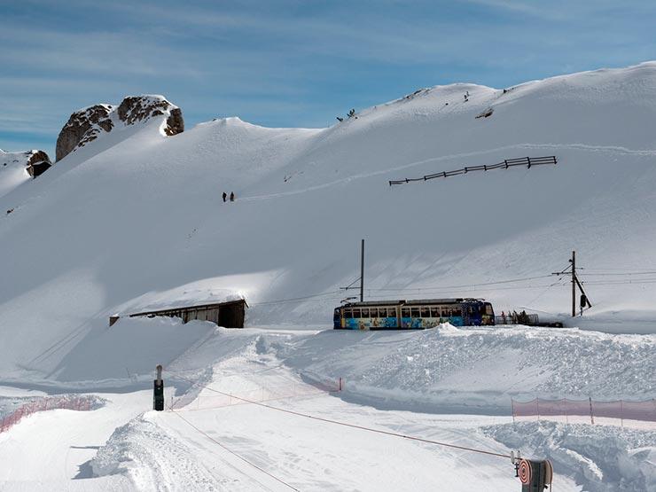 O que fazer em Montreux - Rochers-de-Naye (Foto via Shutterstock)