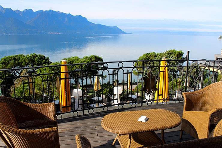 Onde ficar em Montreux: Grand Hôtel Suisse Majestic (Foto: Esse Mundo É Nosso)