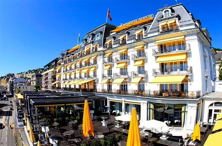 Onde ficar em Montreux: Grand Hôtel Suisse Majestic (Foto: Divulgação)