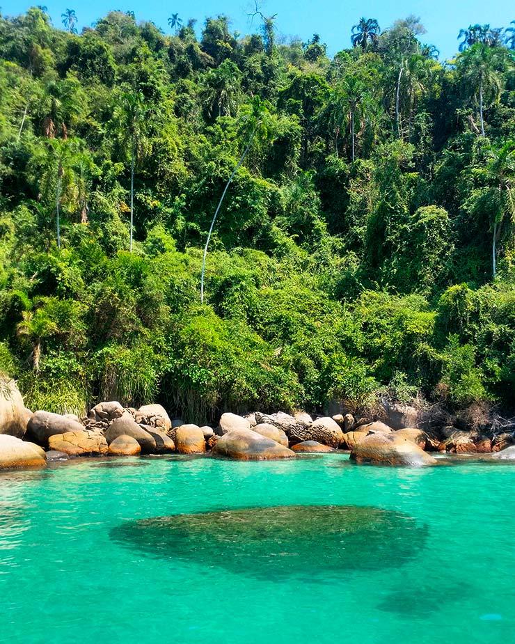 Praias de Paraty - Lagoa Azul (Foto: Cortesia de Claudia Zamora)