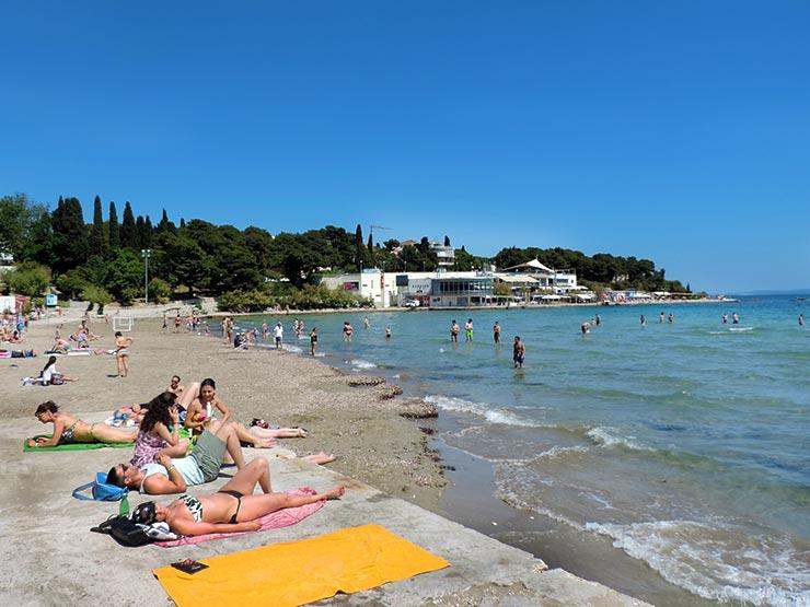 Praias de Split, Croácia - Bačvice (Foto: Esse Mundo É Nosso)