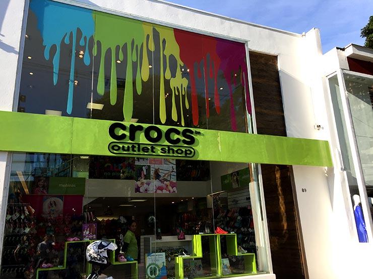 3e048d164e97d Outlet em São Paulo  Crocs (Foto  Esse Mundo é Nosso)
