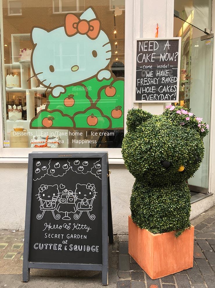 Chá da tarde da Hello Kitty (Foto: Divulgação)