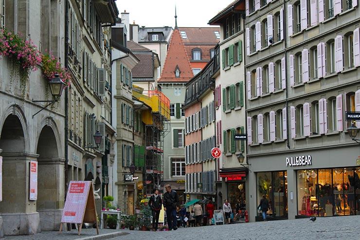 Dicas de Lausanne, Suíça - Place de la Palud (Foto: Esse Mundo É Nosso)