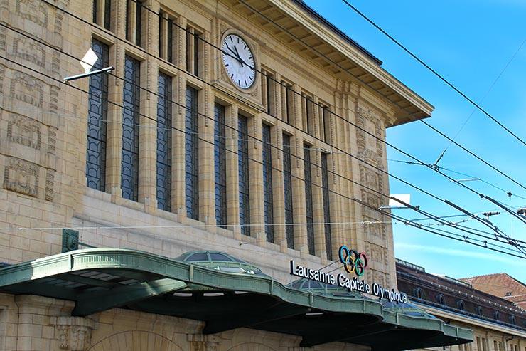 Dicas de Lausanne, Suíça - Estação central (Foto: Esse Mundo É Nosso)