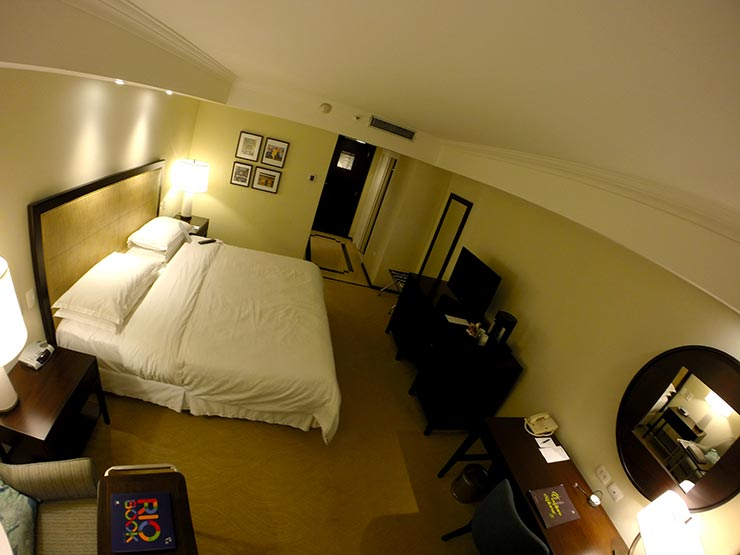 Hotel no Rio de Janeiro (Foto: Esse Mundo é Nosso)