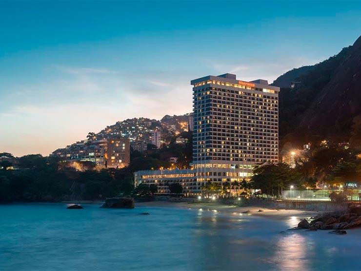 Hotel no Rio (Foto: Reprodução/Faceboo)