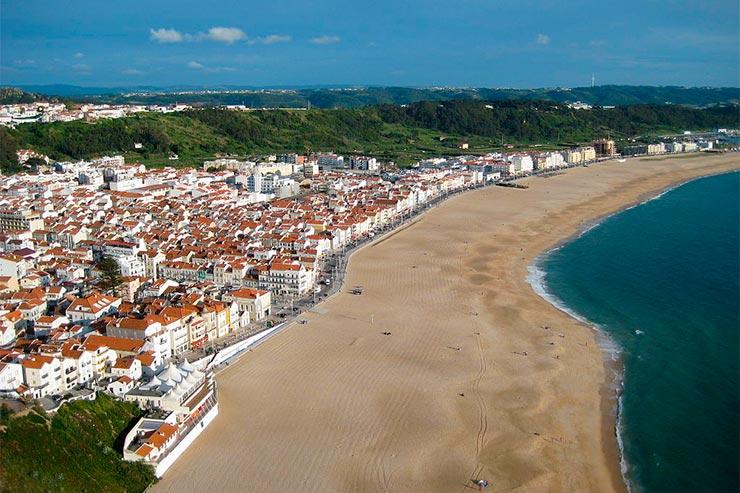 Cidades de Portugal - Nazaré [Foto Markus Bernet (CC BY-SA 3.0)]