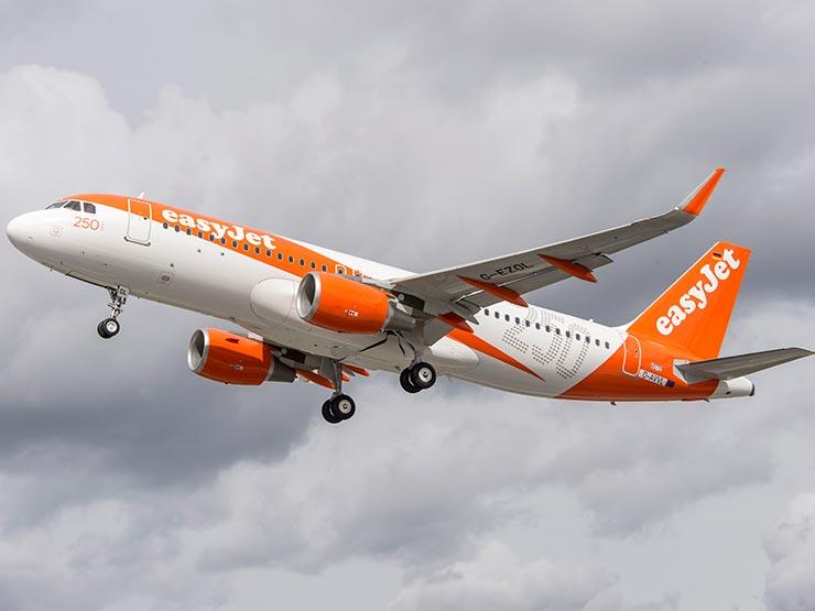Avião da EasyJet (Foto: Divulgação