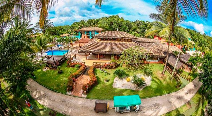 Dica de hotel em Itacaré: Ecoporan (Foto: Divulgação)