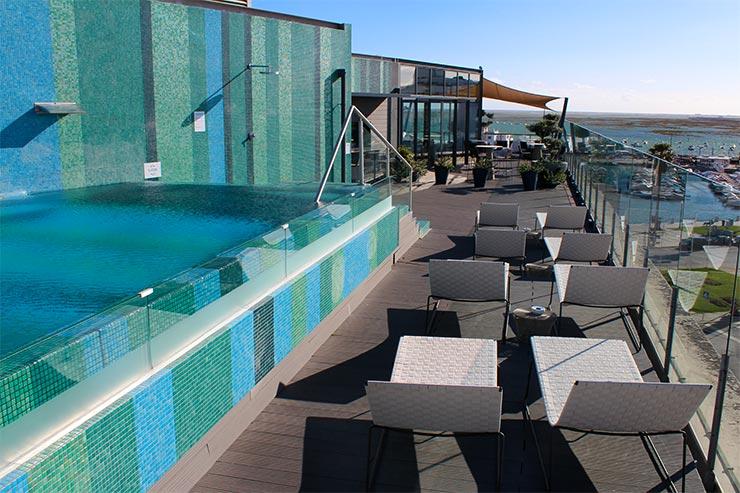 Roteiro no Algarve, Portugal - Faro Hotel & Beach Club (Foto: Esse Mundo É Nosso)