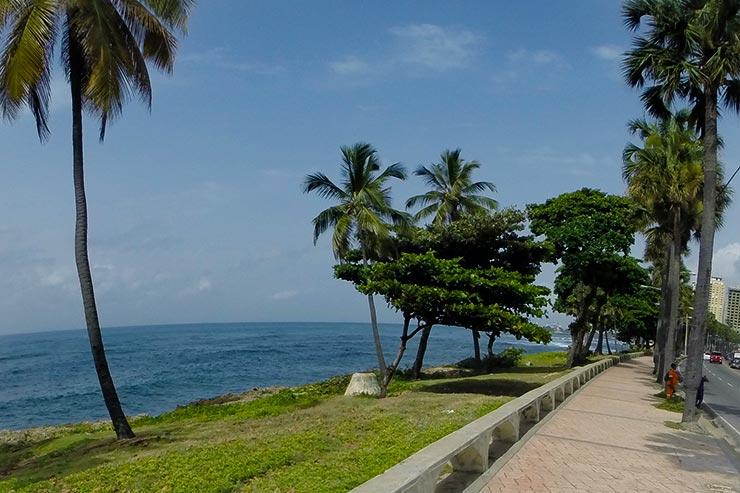 O que fazer em Santo Domingo - Malecón (Foto: Esse Mundo É Nosso)