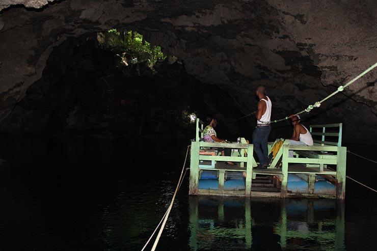 O que fazer em Santo Domingo - Los Tres Ojos (Foto: Esse Mundo É Nosso)