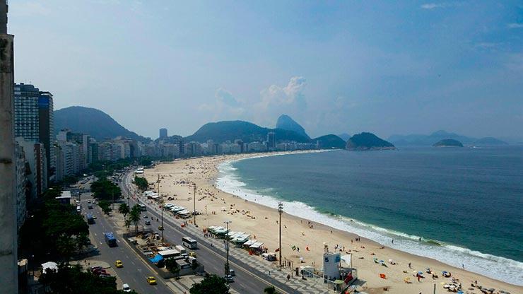 Onde ficar em Copacabana de frente pra praia (Foto: Marjorie Dias)