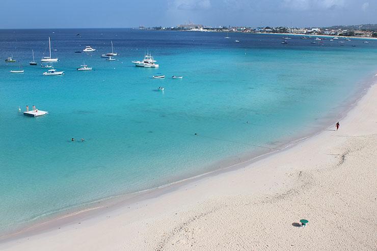 Melhores praias de Barbados: Carlisle Bay (Foto: Esse Mundo É Nosso)