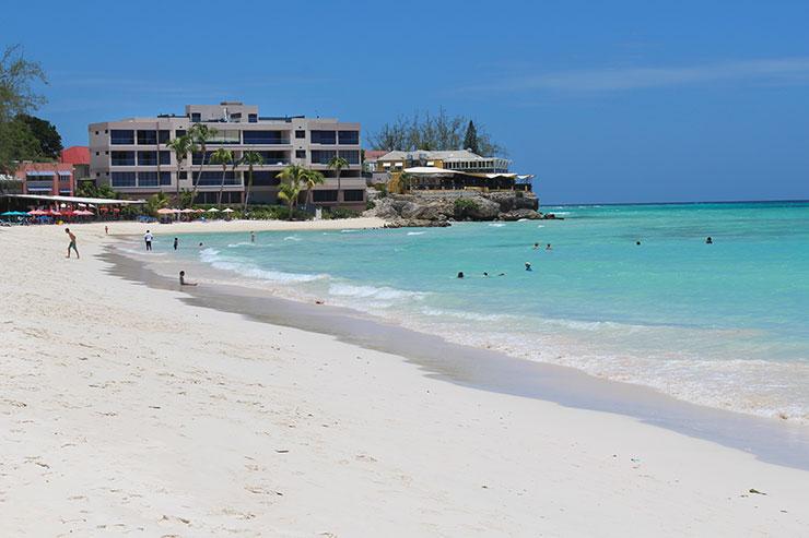 Melhores praias de Barbados: Accra Beach (Foto: Esse Mundo É Nosso)