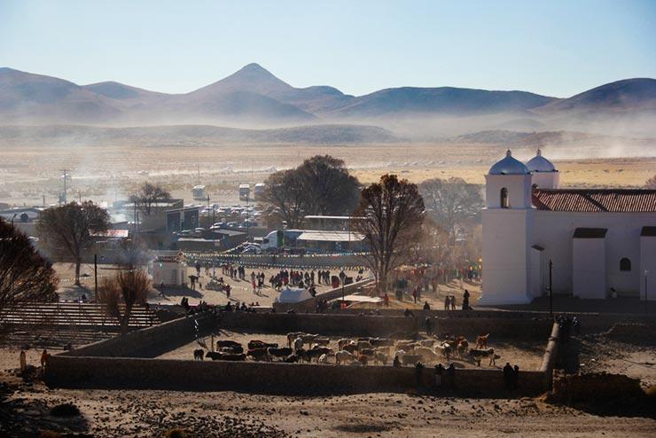 Como é o Toreo de la Vincha, na Argentina (Foto: Átila Ximenes)