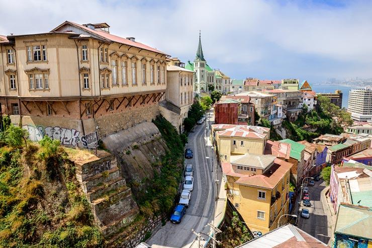De Santiago a Valparaíso e Viña del Mar (Foto via Shutterstock)