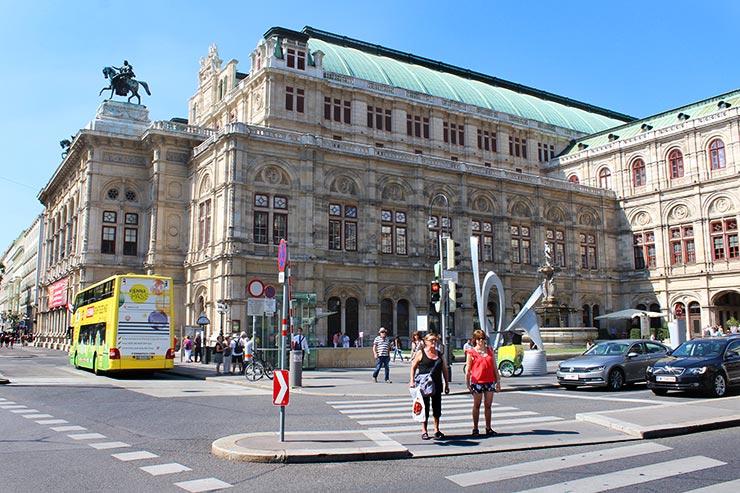 Pontos turísticos de Viena: Ópera (Foto: Esse Mundo É Nosso)