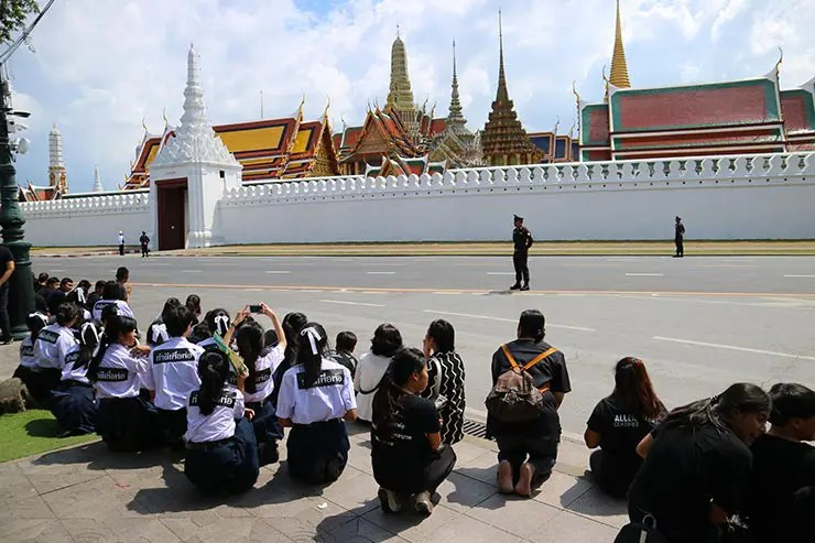 Morte do rei da Tailândia (Foto: Esse Mundo é Nosso)